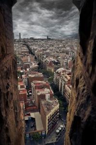 Barcelona - Storm brewing