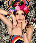Diorama-Concept-Fashion-Bracelet-printed-leather-Midnight-blossom-crop