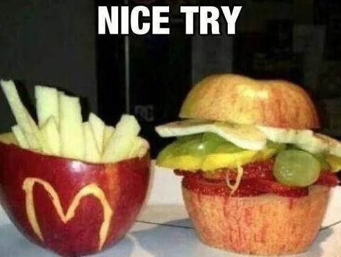 nice try food